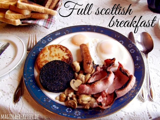 Schottisches Frühstück - was ist drin? Full scottish breakfast
