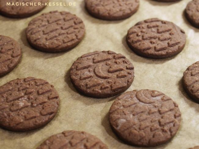 Einfaches Rezept für Kakao-Ausstecherkekse