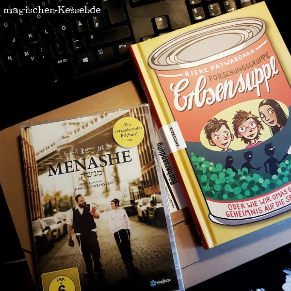 """Film Menashe und Kinderbuch """"Forschungsgruppe Erbsensuppe"""""""