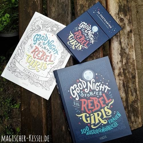 Rezensionsexemplar: Good Night Stories for Rebel Girls