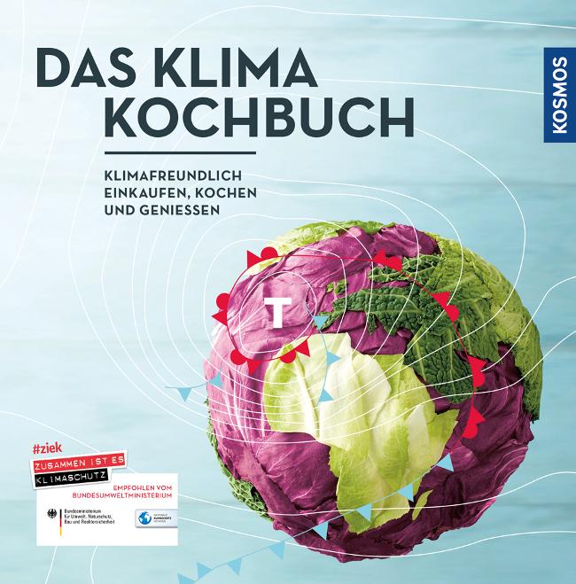 """Cover von """"Das Klimakochuch"""" vom Kosmos Verlag"""