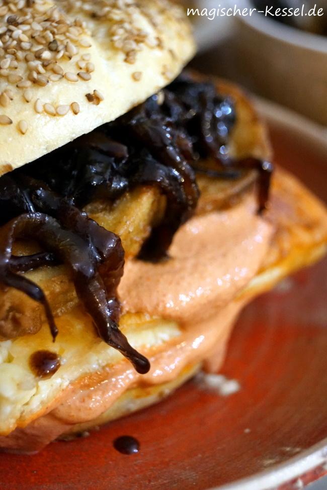 Granatapfelzwiebeln: Karamellisierte Zwiebeln mit Honig und Granatapfelsirup