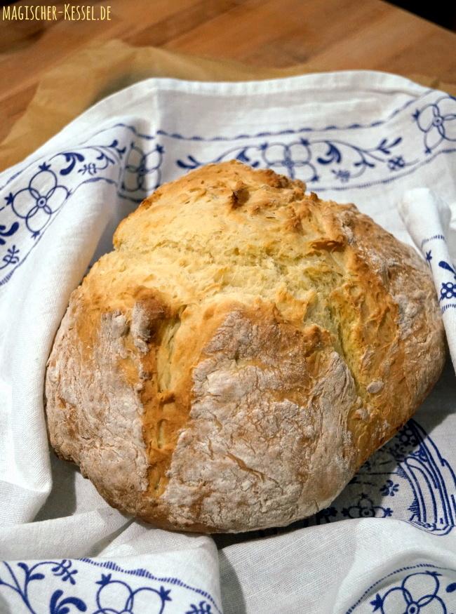 Rezept für Irisches Sodabrot - frisches Brot in 1 Stunde
