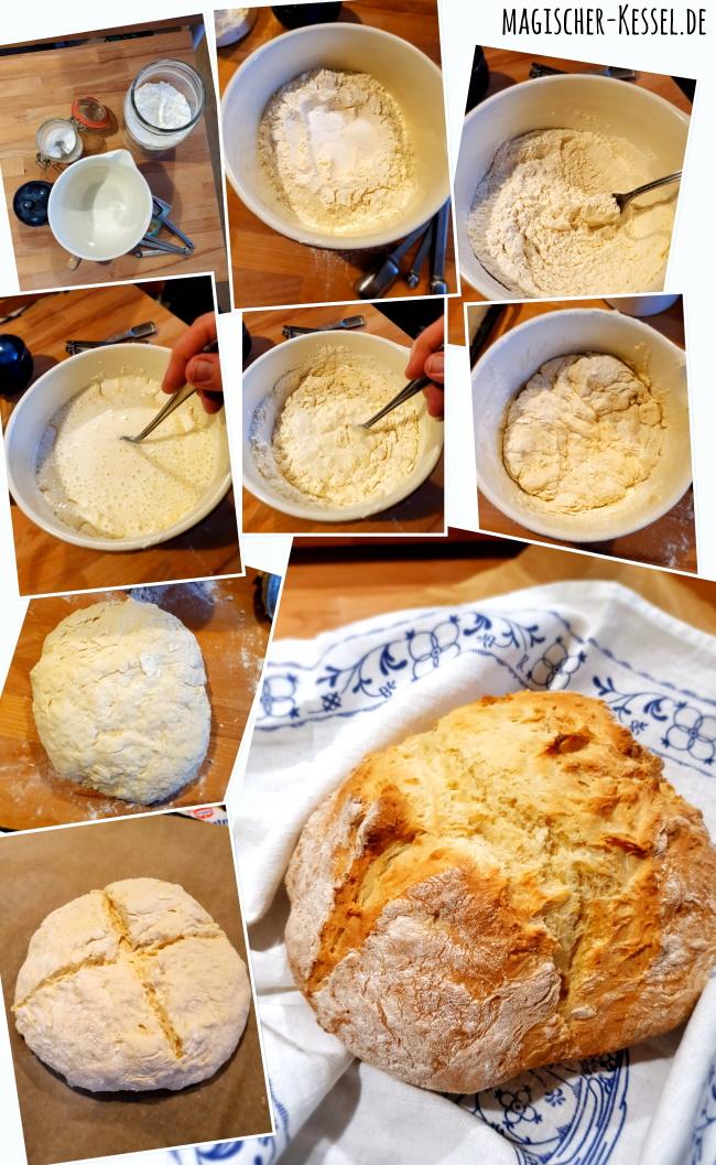 Wie bäckt man Soda Bread