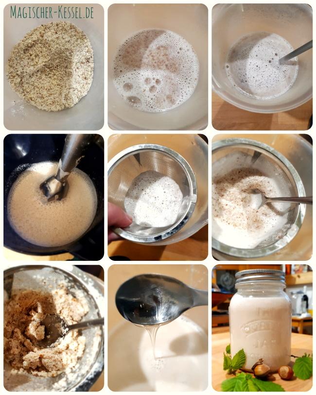 Wie macht man selbst eine pflanzliche/vegane Milchalternative