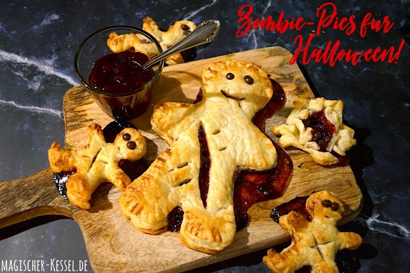 Zombie-Pies / Blätterteigpasteten für Halloween