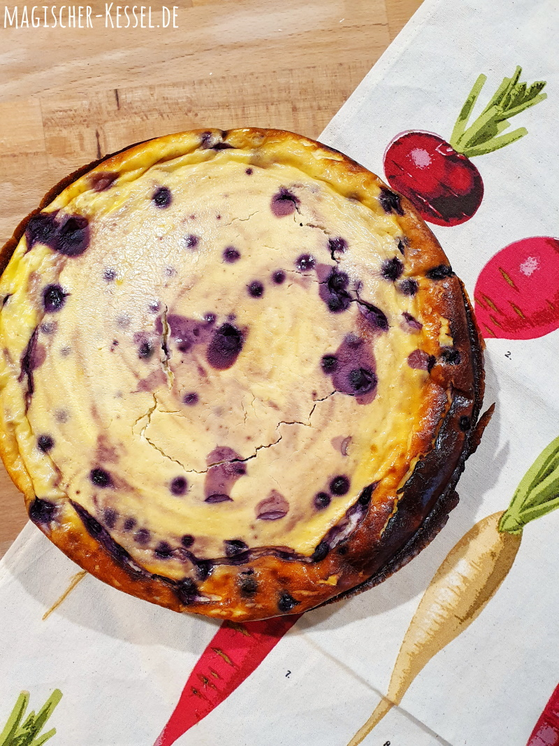 Käsekuchenrezept - schneller & einfacher Käsekuchen mit Puddingpulver, ohne großen Aufwand