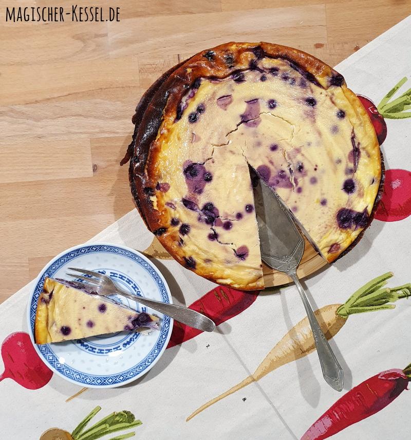 Rezept für einen schnellen, einfachen Käsekuchen